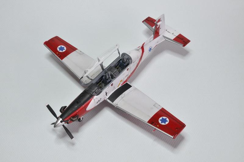 T-6A Texan II Patrouille Acrobatique de l'IAF [Ibex] _DSC9742