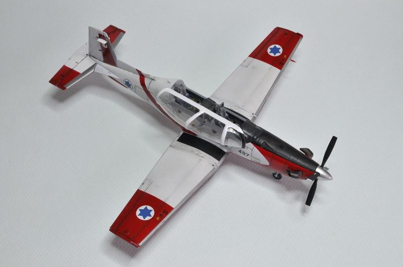 T-6A Texan II Patrouille Acrobatique de l'IAF [Ibex] _DSC9743