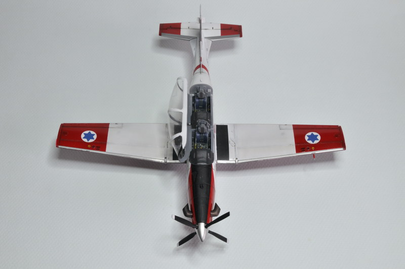 T-6A Texan II Patrouille Acrobatique de l'IAF [Ibex] _DSC9744