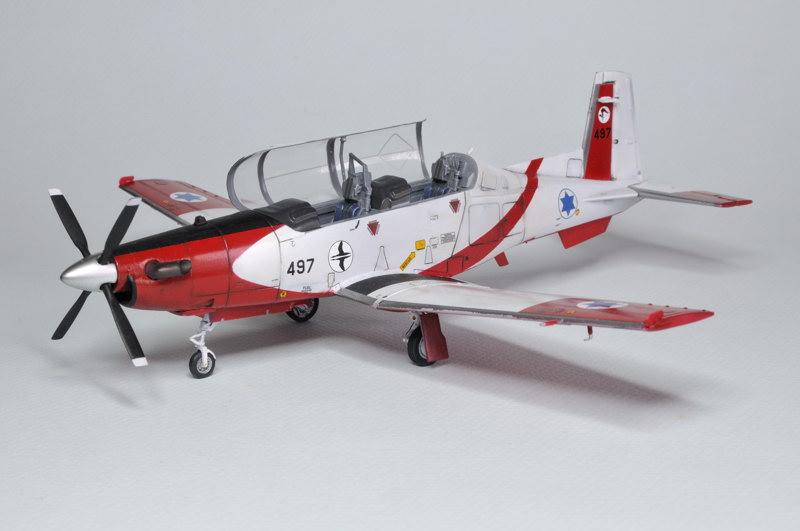 T-6A Texan II Patrouille Acrobatique de l'IAF [Ibex] _DSC9747