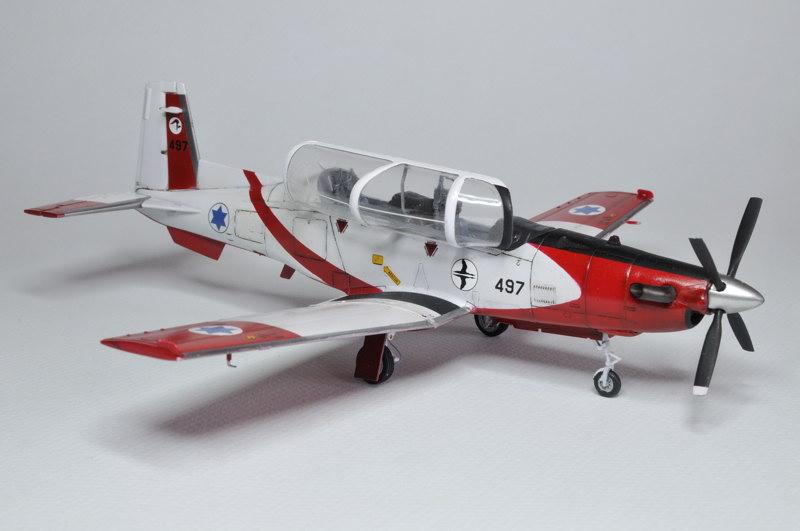 T-6A Texan II Patrouille Acrobatique de l'IAF [Ibex] _DSC9748