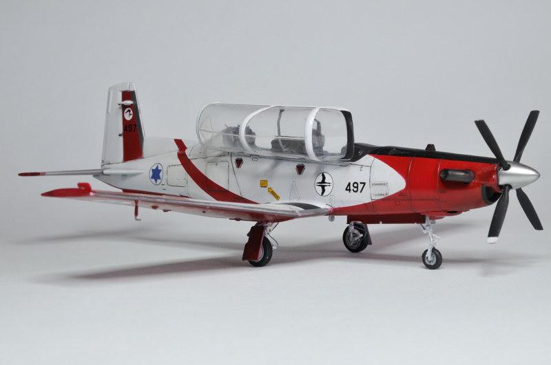 T-6A Texan II Patrouille Acrobatique de l'IAF [Ibex] _DSC9752