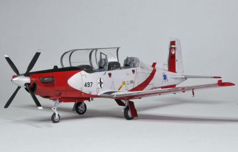 T-6A Texan II Patrouille Acrobatique de l'IAF [Ibex] _DSC9757