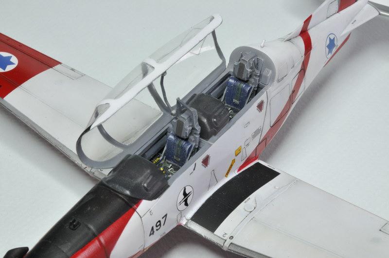 T-6A Texan II Patrouille Acrobatique de l'IAF [Ibex] _DSC9758
