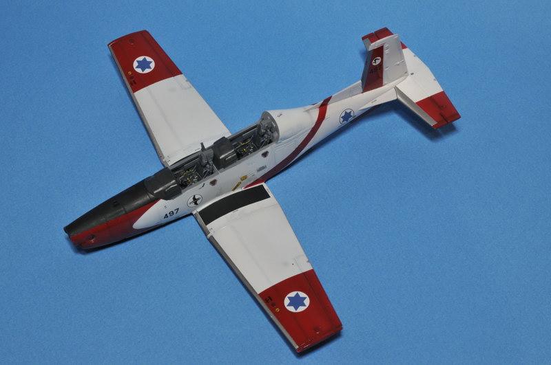 texan - T-6A Texan II Patrouille Acrobatique de l'IAF _DSC9701