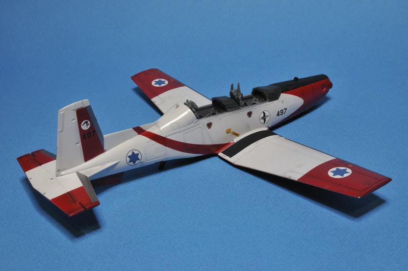 texan - T-6A Texan II Patrouille Acrobatique de l'IAF _DSC9703