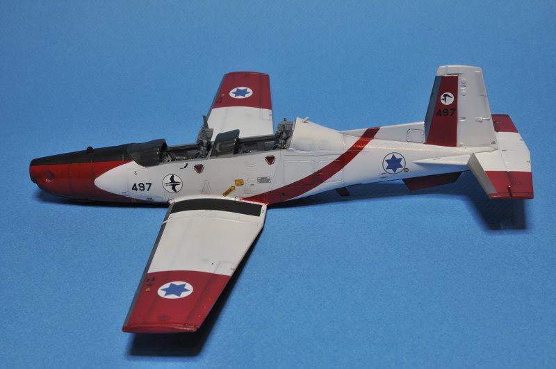 texan - T-6A Texan II Patrouille Acrobatique de l'IAF _DSC9704