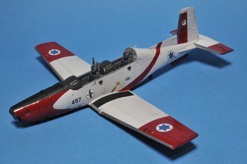 texan - T-6A Texan II Patrouille Acrobatique de l'IAF _DSC9705